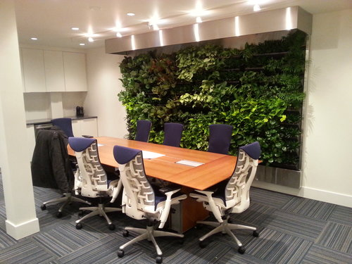 office with no windows. Vancouver Office. Main Feature: Living Wall Installed In A Basement. No Windows, Natural Light. Office With Windows E